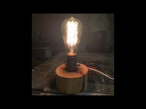 DIY Mini Slab Lamp Walkthrough | NelsoncraftTX