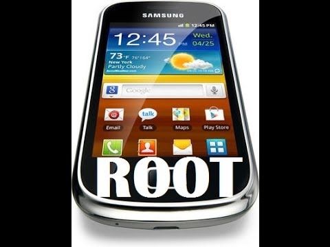 How to ROOT Samsung Galaxy Mini 2 without PC