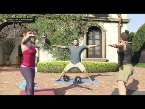 Yoga for Complete Beginners - From The Video game Grand Theft Auto 5