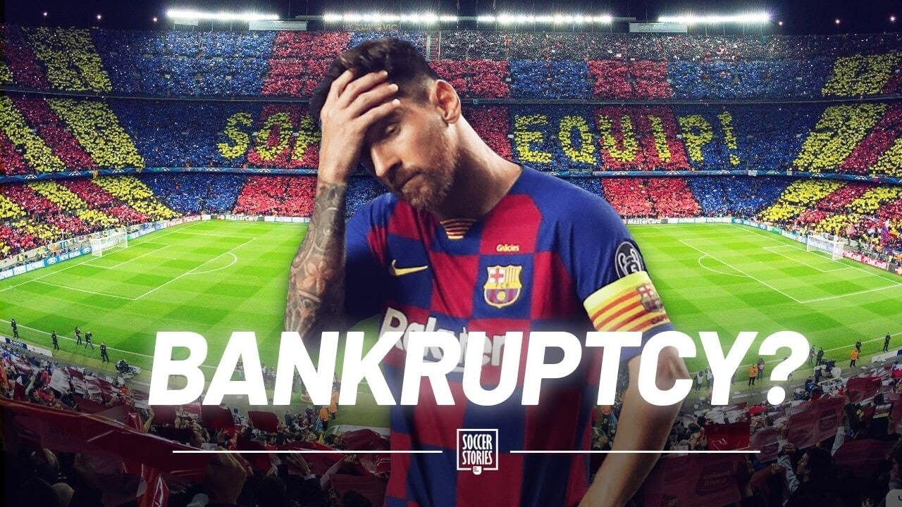 Why FC Barcelona are on the verge of bankruptcy | Oh My Goal