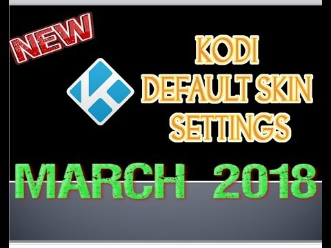 How to get KODI's Default skin for any BUILD ?? Easiest Method