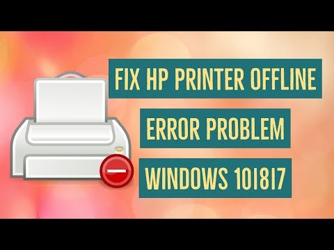 How to Fix HP Printer Offline Problem Windows 10/8/7 Error