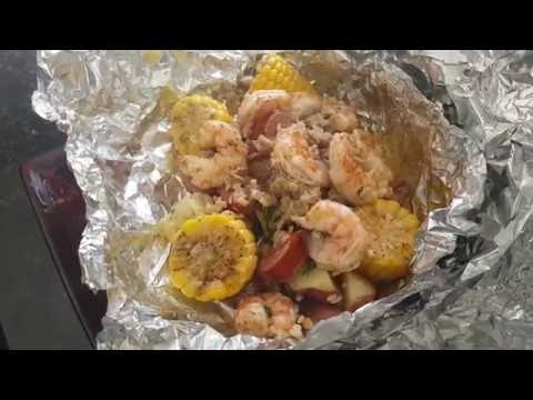 HOW TO #1... MAKING A GRILLED CRAB/SHRIMP BOIL FOIL PACKET RECIPE
