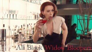 All Black Widow Bloopers!!!