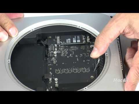 SSD-Upgrade beim Mac mini 2014