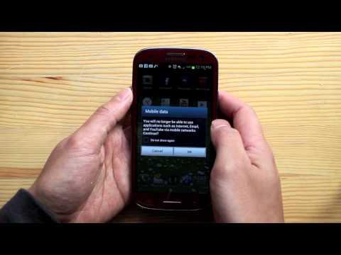 Turn off Data / Internet Samsung Galaxy S3