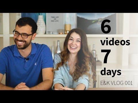 6 videos in 7 days: E&K vlog 001 (ft. William Osman, Matterhackers, and Chris Salomone)