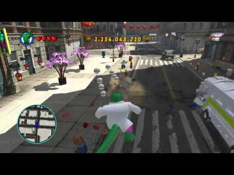 LEGO Marvel Super Heroes The Video Game - Lizard free roam