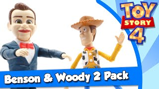 Toy Story 4 Benson And Woody 2 Pack