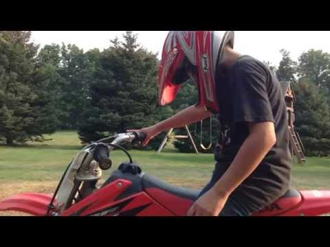 How to ride a dirt bike with no clutch for beginners