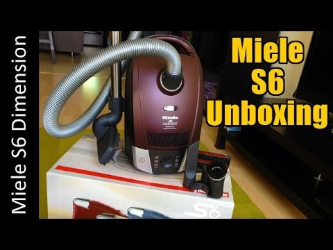 Miele S6 (aka C2) Dimension Unboxing - S6270 Canister Vacuum Cleaner