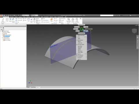 Inventor - Holes in a Sheetmetal Curve