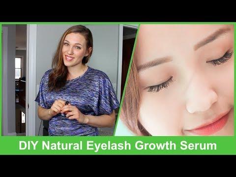 DIY Natural Eyelash Growth Serum 2018 | This Works Awesome!