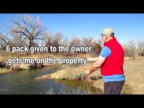 Tenkara winter fishing on Republican River Nebraska