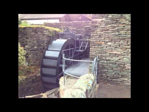 Electricity Generating Waterwheel