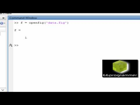MATLAB Tutorial: Get data out from figure file (A MATLAB trick that you must want to know)