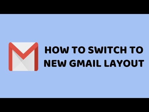 How to Switch to New Gmail Layout | The New Gmail Look | Easy Tutorials in Hindi