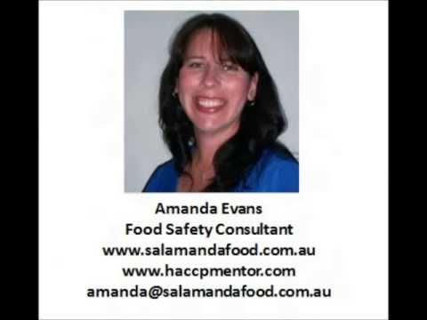 Falsification of HACCP records with Amanda Evans