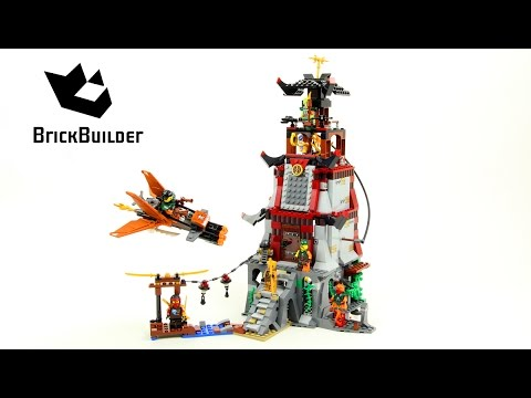 Lego Ninjago 70594 The Lighthouse Siege - Lego Speed build