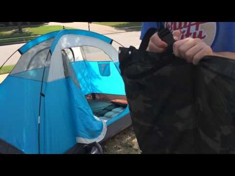 Self-inflating camping mat - Inflates FAST!