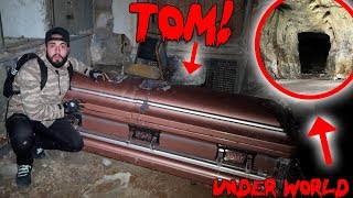I TUNNELLED INTO THE UNDERWORLD & FOUND TOMS HAUNTED COFFIN!