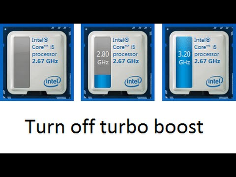 How to turn off turbo boost mode on Alienware laptop