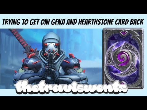 Getting Oni Genji and HotS Card Back (Heroes of the Storm)