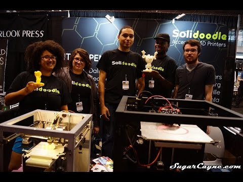 Solidoodle 3D Printing At New York Comic Con