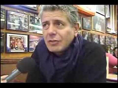 Katz's Delicatessen  - Anthony Bourdain