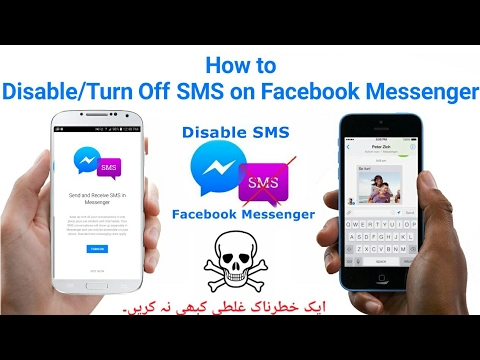 How to Turn Off / Disable The SMS Feature in Facebook Messenger,Hide Sms In Messenger