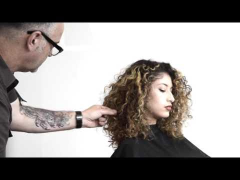 curly hair dry haircut