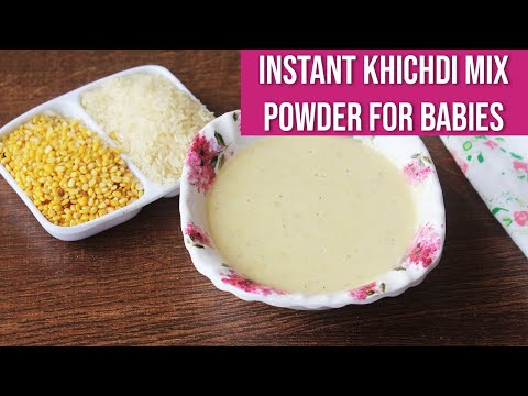 Instant Khichdi Mix Powder for Babies