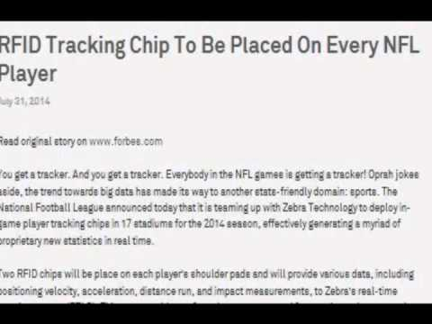 NFL Players Will Receive RFID Microchips For 2014