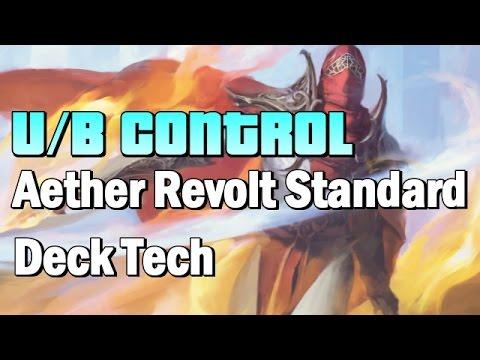 Mtg Deck Tech: U/B Control in Aether Revolt Standard!