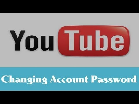 How To Change Your YouTube Account Password? - YouTube Tips & Tricks