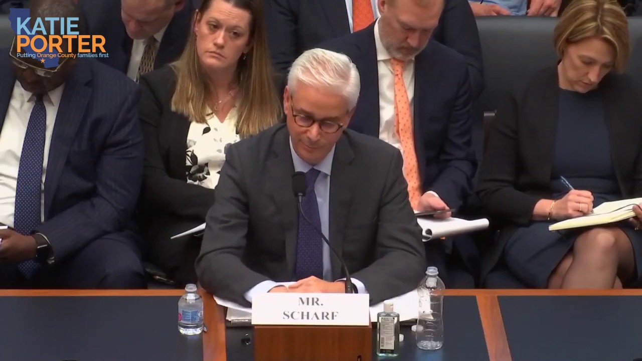 Rep. Porter grills Wells Fargo CEO on bank tellers relying on public assistance to make ends meet