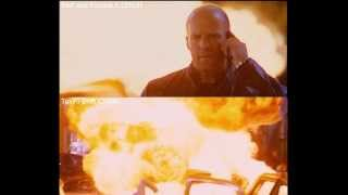 Fast & Furious  Han's Death Comparison (Dokyo Drift / Fast & Furious 6)