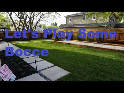 Bay area Bocce Ball Court ... All Access 510-701-4400