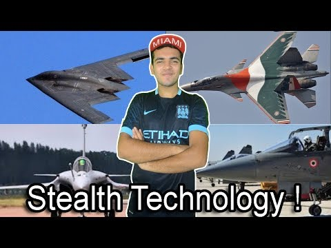 [HINDI] Technology Used by Indian ARMY! Stealth Technology in Fighter Planes. EXPLAINED!
