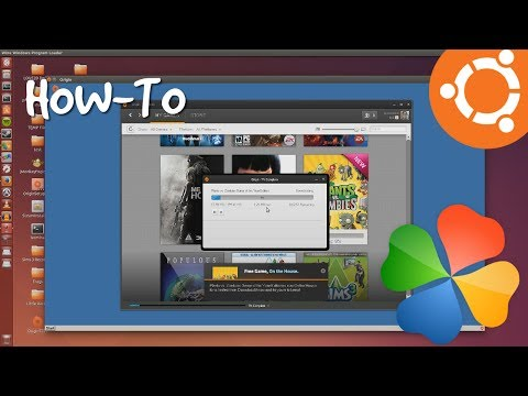 Fix EA Origin Download Problem On Ubuntu 14.04 with PlayOnLinux