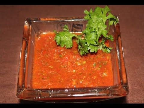 Salsa Sauce   How To Make Salsa Sauce   Mexican Dip   Simply Jain