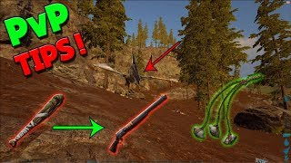 ARE YOU PVPING WRONG!?  -PvP TIPS-  ARK SURVIVAL EVOLVED