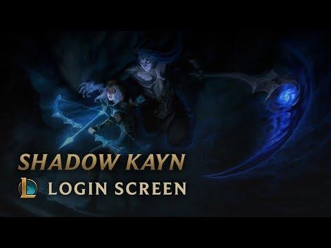 Shadow Kayn, the Shadow Reaper | Login Screen - League of Legends