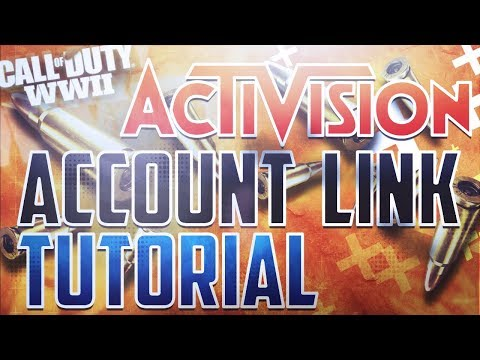 ★ LINK YOUR COD ACCOUNT ★ PSN & XBOX LIVE ACTIVISION ACCOUNT CONNECT ★