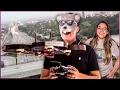 VOANDO EM ESPAÇO AÉREO PROIBIDO EM LOS ANGELES - DRONANDO POR Ai