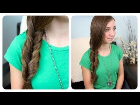 2-Minute Faux Fishtail Braid | Cute Girls Hairstyles