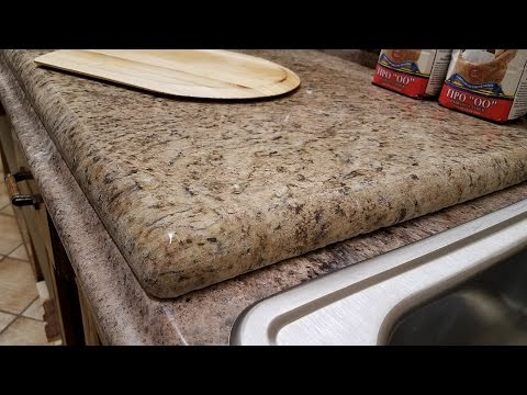 How to make a heavy marble pizza dough board