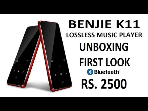 TECH | BENJIE K11 | Lossless Music Player with Bluetooth