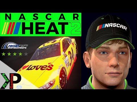 NASCAR Heat 2 Career Mode Gameplay #53 - Cup Hot seat at Michigan