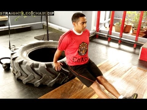 HINDI: How To Do Lunges, Dips & Step Ups - CrossFit Exercises